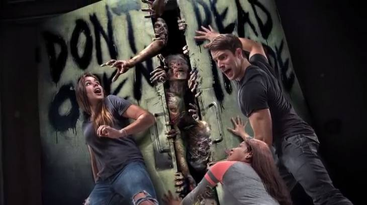 the walking dead universal studios attraction