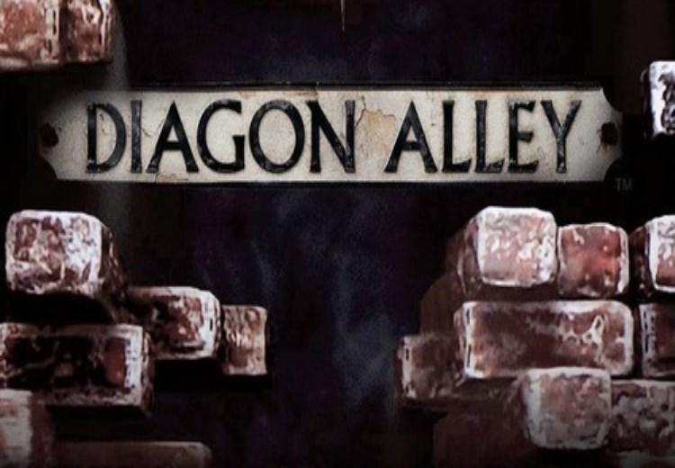 Sneak Peek Of Diagon Alley Wizarding World Of Harry Potter